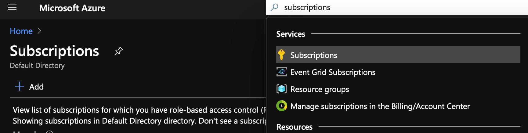 Azure Subscription