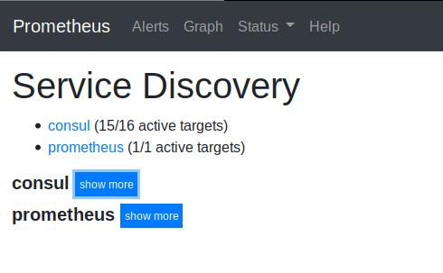 Prometheus Consul Service Discovery
