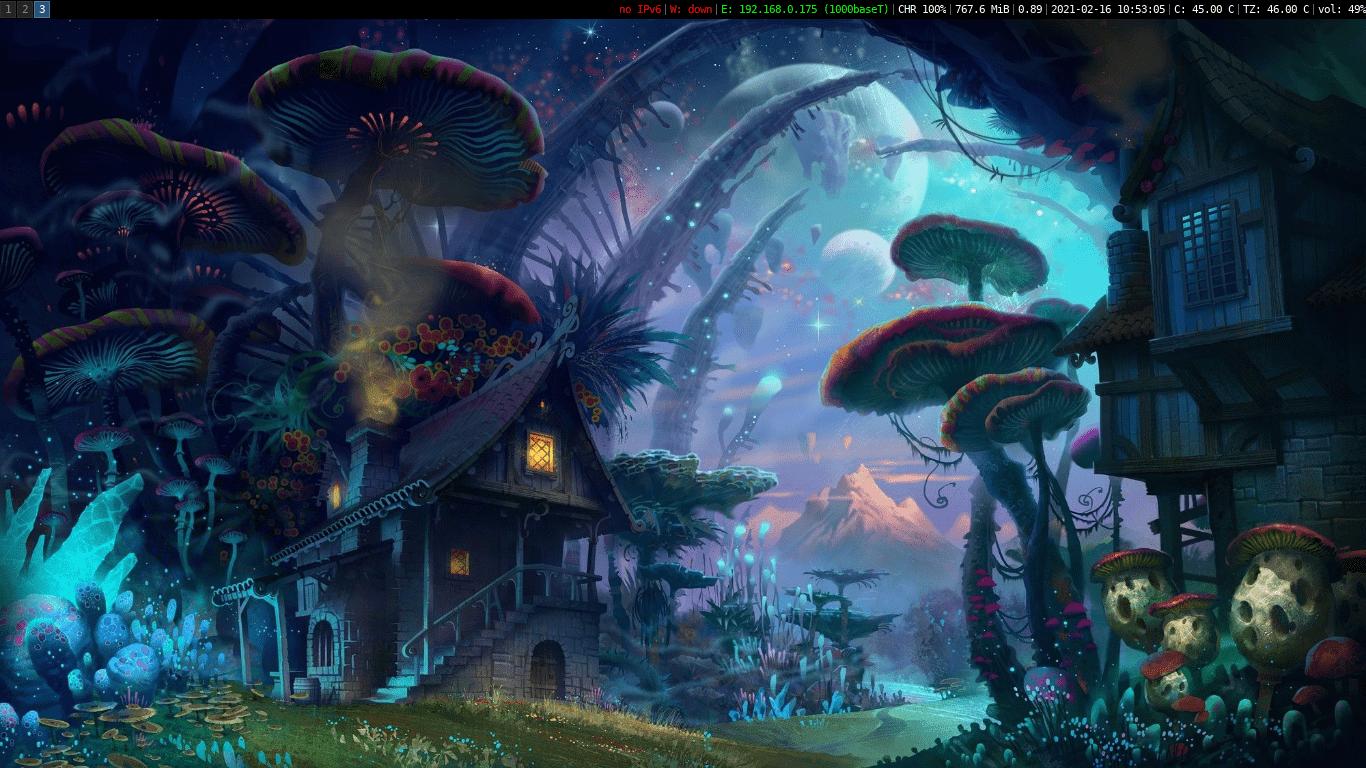 Haken OpenBSD Screenshot